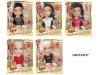 Pretty girl plastic big head doll DBC123117