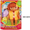 Pretty plastic big eye girl doll DBC122015