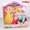 Promotion toy 11.5 inch beautiful baby doll