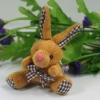 Promotional cute brown plush rabbit dog toys,plush toy,plush animal keychain