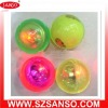 Promotional items LED flashing ball with logo printed