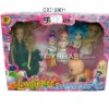 Promotional toys wholesale  doll set for baby