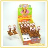 Pull Back Skating Monkey Candy Toy(Toy Candy)