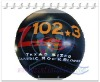 {Qi Ling}hot black inflatable sky balloon for activities