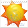 {Qi Ling}new design inflatable sun for activities