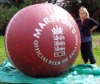 RED fashion inflatable zorb&grass Ball