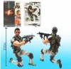 RESIDENT EVIL 5 CHRIS CLASSIC FIGURE COLLECTION NEW!
