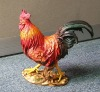 Resin rooster toy decoration