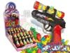Revolver gun  toy with candy