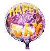 Round Balloon-Happy Birthday