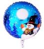 Round Balloon-Snow man