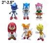 SEGA Sonic the Hedgehog Figures Set of 6