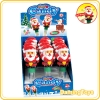 Santa claus with variational eyes candy toy