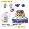 Sell magic sun &moon sand toys