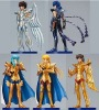 Set of 5 pcs. Anime Saint Seiya PVC Figures