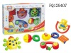 Shaking bell bady toys