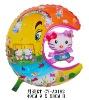 Shape Moon Hello Kitty Helium Filling Balloons