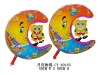 Shape Moon Spongebob Helium Filling Balloons
