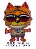 Shape Tiger wear sunglass Balloon
