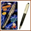 Shock-You-Friend Electric Shock Ball Pen Electric Shock Pen magic pen magic toy magic trick