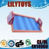 Single layer inflatable football,soccer field for asle