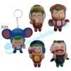 Small plastic toy keychian