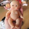 Small  vinyl doll