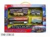 Smoking train/track,B/O railway toy set