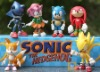 Sonic The Hedgehog Game Figures Set 6 Pcs with Gift Box