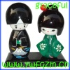 Souvenir Wood Japanese Doll