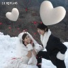 Special heart wedding decoration balloons