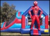 Spiderman castle jumper inflatable