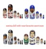 Sport Matryoshka doll Chicago cubs famous players