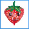 Strawberry Mylar Helium Balloon