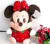 Strawberry Plush Mickey Mouse on Hotsale Staffed Cartoon Toy