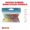 Supply Color Attractive Shaped Rubber Bands