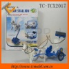 TC-TCX2017 Environmental protection New solar toy car, solar toy in car