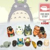 Totoro cute version pvc action figure set(12 pieces)