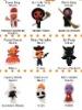 Unique Fabric String Dolls,Mini Voodoo Doll, Keychain Voodoo Dolls