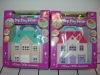 Villa,Prefabricated villa,House,Plastic villa,Children toys,Hose building,