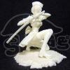 Vinyl/Plastic Japan Samurai girl figurine
