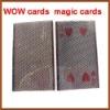 WOW magic cards,cards-magic,cards-magic props-magic tricks,stage magic,magic toy,magic products