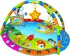 Washable Happy Angel baby gym mat