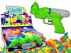 Water gun candy container