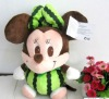Watermelon Plush Mickey Mouse on Hotsale Staffed Cartoon Toy