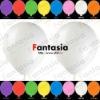White Metallic Latex Balloon