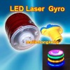 Wholesale NEW LED toys! Christmas Toys!Music laser gyro flash gyro