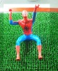 Wholesale super spider-man hero action figures toys