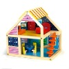 Wooden Colorful House toys