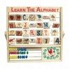 Wooden alphabet toys